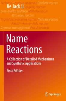 Jie Jack Li: Name Reactions, Buch