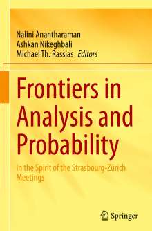 Frontiers in Analysis and Probability, Buch