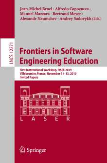 Frontiers in Software Engineering Education, Buch