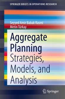 Metin Türkay: Aggregate Planning, Buch