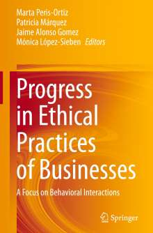 Progress in Ethical Practices of Businesses, Buch