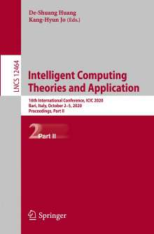 Intelligent Computing Theories and Application, Buch