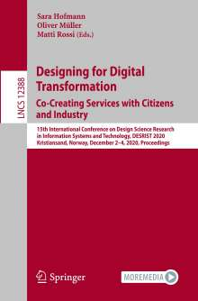Designing for Digital Transformation. Co-Creating Services with Citizens and Industry, Buch