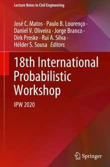 18th International Probabilistic Workshop, Buch