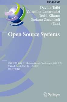 Open Source Systems, Buch