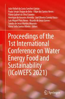Proceedings of the 1st International Conference on Water Energy Food and Sustainability (ICoWEFS 2021), Buch