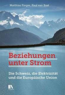 Matthias Finger: Beziehungen unter Strom, Buch