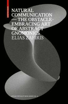 Elias Zafiris: Natural Communication, Buch