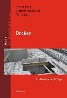 Anton Pech: Decken, Buch