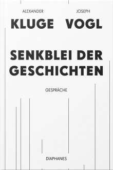 Joseph Vogl: Senkblei der Geschichten, Buch
