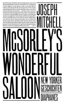 Joseph Mitchell: McSorley's Wonderful Saloon, Buch