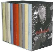 Gerhard Polt: Bibliothek, 10 Bde. m. Begleitbuch, Buch