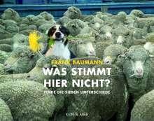 Frank Baumann: Was stimmt hier nicht?, Buch