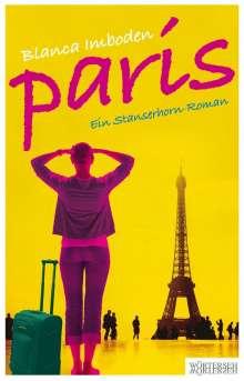Blanca Imboden: Paris, Buch