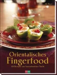 Ali Biçer: Orientalisches Fingerfood, Buch