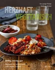 Iris Lange-Fricke: Herzhaft vegetarisch, Buch