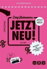 Cary Steinmann: Jetzt neu!, Buch