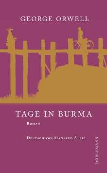 George Orwell: Tage in Burma, Buch
