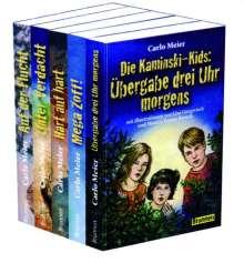 Carlo Meier: Die Kaminski-Kids - Paket 1. Band 1-5, Buch