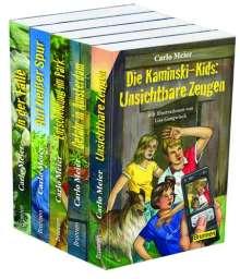 Carlo Meier: Die Kaminski-Kids - Paket 2. Band 6-10, 5 Bücher