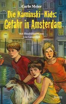 Carlo Meier: Die Kaminski-Kids: Gefahr in Amsterdam, Buch