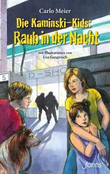 Carlo Meier: Die Kaminski-Kids: Raub in der Nacht, Buch