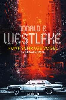 Donald Westlake: Fünf schräge Vögel, Buch
