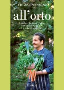 Claudio Del Principe: all'orto, Buch