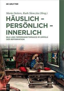 Häuslich - persönlich - innerlich, Buch