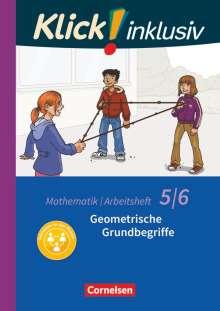Christel Gerling: Klick! inklusiv 5./6. Schuljahr - Geometrische Grundbegriffe. Arbeitsheft 4, Buch