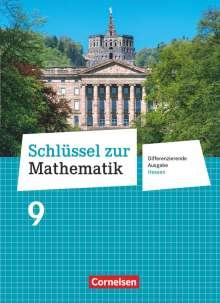 Helga Berkemeier: Schlüssel zur Mathematik 9. Schuljahr - Differenzierende Ausgabe Hessen - Schülerbuch, Buch