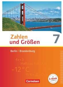Helga Berkemeier: Zahlen und Größen 7. Schuljahr. Schülerbuch Berlin und Brandenburg, Buch