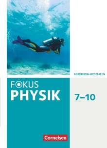 Stefan Burzin: Fokus Physik 7.-10. Schuljahr - Gymnasium Nordrhein-Westfalen G9 - Schülerbuch, Buch