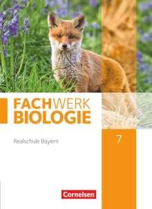 Udo Hampl: Fachwerk Biologie 7. Jahrgangsstufe - Realschule Bayern - Schülerbuch, Buch