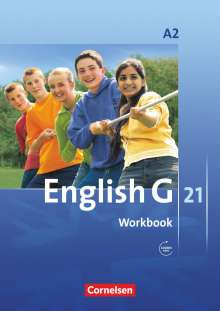 English G 21. Ausgabe A 2. Workbook mit Audios online, Buch