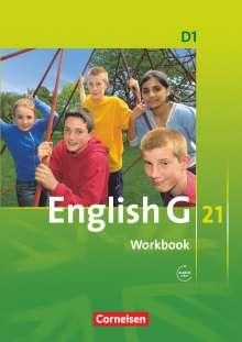 Jennifer Seidl: English G 21. Ausgabe D 1. Workbook mit Audios online, Buch