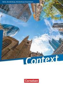 Irene Bartscherer: Context. Schülerbuch Berlin/ Brandenburg/ Mecklenburg-Vorpommern, Buch