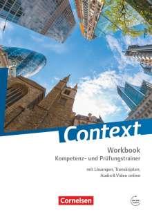 Peter Hohwiller: Context: Kompetenz- und Prüfungstrainer. Workbook mit Online-Materialien, Buch
