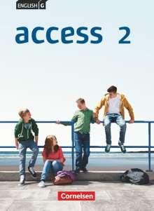 Laurence Harger: English G Access 02: 6. Schuljahr. Schülerbuch. Allgemeine Ausgabe, Buch
