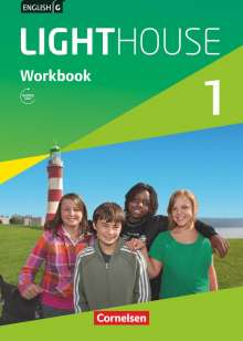 Gwen Berwick: English G LIGHTHOUSE 1: 5. Schuljahr. Workbook mit Audios online, Buch