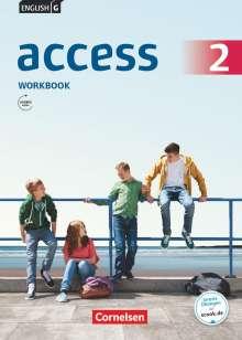 Jennifer Seidl: English G AccessBand 2: 6. Schuljahr. Allgemeine Ausgabe. Workbook mit Audios online, Buch