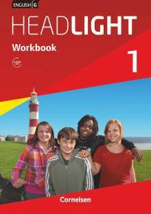 Gwen Berwick: English G Headlight 01: 5. Schuljahr. Workbook mit Audios online, Buch