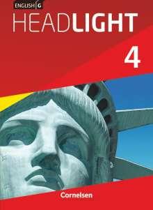 Susan Abbey: English G Headlight 4: 8. Schuljahr. Schülerbuch, Buch