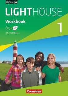 Gwen Berwick: English G LIGHTHOUSE 1: 5. Schuljahr. Workbook mit CD-ROM (e-Workbook) und Audios online, Buch