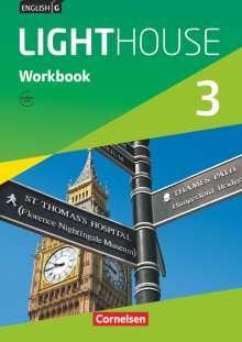 Gwen Berwick: English G LIGHTHOUSE 3: 7. Schuljahr. Workbook mit Audios online. Allgemeine Ausgabe, Buch
