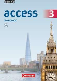 Jennifer Seidl: English G Access 3: 7. Schuljahr.Workbook mit Audio-CD, Buch