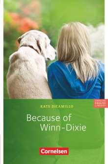 Kate DiCamillo: Because of Winn-Dixie. 6. Schuljahr, Stufe 3, Buch