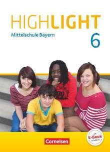 Susan Abbey: Highlight 6. Jahrgangsstufe - Mittelschule Bayern - Schülerbuch, Buch
