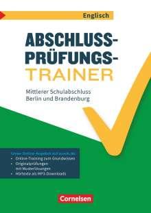 Gwen Berwick: Abschlussprüfungstrainer Englisch 10. Schuljahr - Berlin und Brandenburg - Mittlerer Schulabschluss, Buch