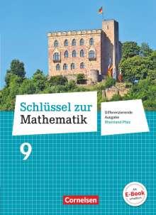 Helga Berkemeier: Schlüssel zur Mathematik 9. Schuljahr - Differenzierende Ausgabe Rheinland-Pfalz - Schülerbuch, Buch